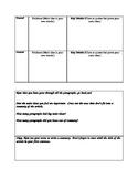 Common Core Fluency/ Comprehension Graphic Organizers to S