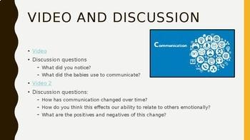 Teaching Communication PowerPoint