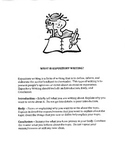 Teaching Components of Expository Writing
