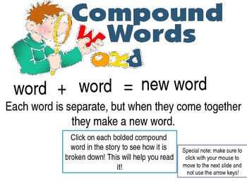 Teaching Compound Words