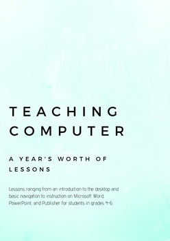 Teaching Computer A Year's Worth of Lessons