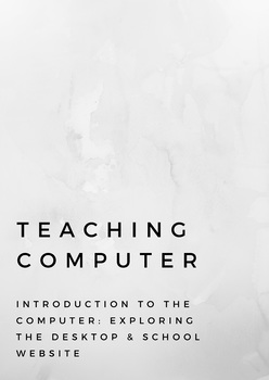 Teaching Computer Introduction to the Computer