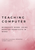 Teaching Computer Keyboard Shortcuts in Microsoft Word