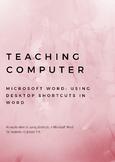 Teaching Computer Keyboard Shortcuts in Microsoft Word
