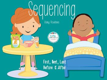 Teaching Concepts and Sequencing- First, Next, Last, Before and After