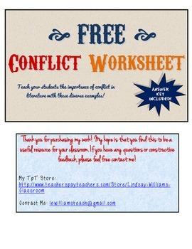 Teaching Conflict Using Popular Literature