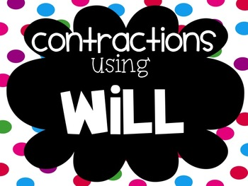 Teaching Contractions in Early Grades