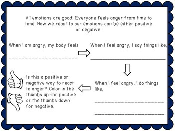 Teaching Coping Skills to Lower Elementary Students