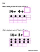 """Teaching """"Counting On"""" (within 20)- Missing Addends"""