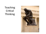 Teaching Critical Thinking: Writing the Precis