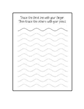 Teaching Cursive Handwriting Pre-cursive