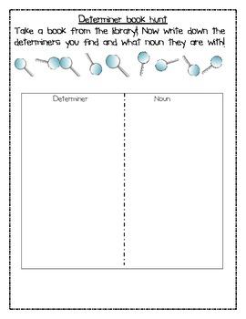 Teaching Determiners