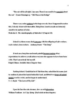 Teaching Diction in AP Literature