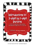 Teaching Division Unit -  9 Lessons - TEKS 4.4E, F, and G