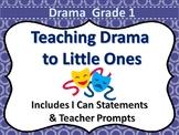 Drama Grade 1 Ontario Curriculum