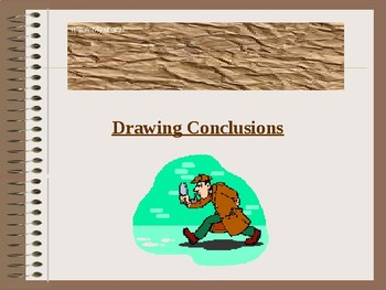 Teaching Drawing Conclusions/Inferences to Special Needs