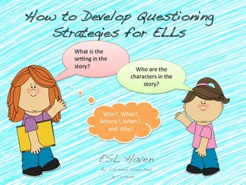 Teaching ELLs to Ask Questions
