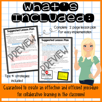 Teaching Effective Group Work (Lesson Plan, Activity, & Posters)