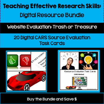 Teaching Effective Research Skills - Digital Resource Bundle for Google Drive