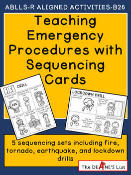 Teaching Emergency Procedures with Sequencing Cards