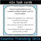 Teaching Empathy Scenarios - Social Skills for Middle School & High School Cards