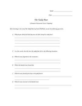 Teaching Empathy: The Teddy Bear