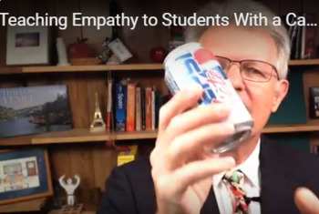 Teaching Empathy to Students With a Can of Pop