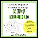 Teaching English as a Foreign Language Bundle for Kids!