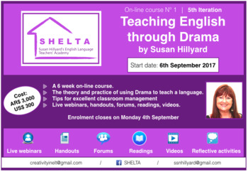 Teaching English through Drama: Professional Development for English Teachers