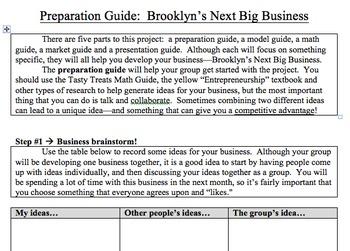 Teaching Entrepreneurship - Brooklyn's Next Big Business