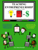 Real World Entrepreneurship Curriculum Guide with 2 FREE PREVIEW LESSONS