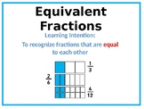 Teaching Equivalent Fractions - POWERPOINT