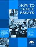 How to Teach Essays | Digital Options