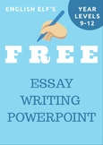 Teaching Essay Writing PowerPoint (PART 2)