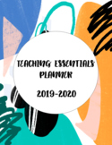 Teaching Essentials Printable Planner 2019-2020