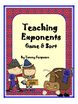 Teaching Exponents Game and Sort