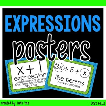Expressions Posters