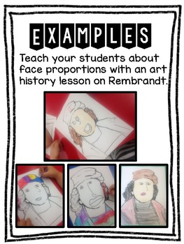 Teaching Face Proportions with Rembrandt Art History