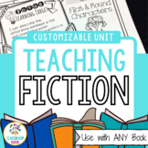 Teaching Fiction Unit {Use With ANY Book - Picture OR Chapter}