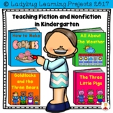 Teaching Fiction and Nonfiction in Kindergarten {Ladybug L