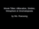 Teaching Figurative Language Through Movie Titles