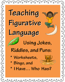 Teaching Figurative Language Using Jokes, Riddles, and Puns