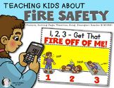 Fire Safety for Kindergarten and First Grade Social Studies