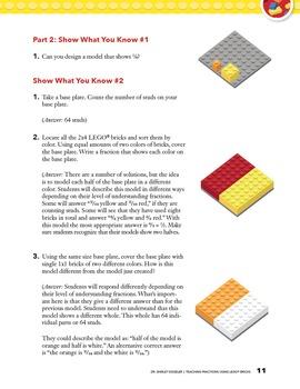 Teaching Fractions Using LEGO® Bricks