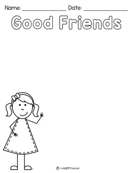 Teaching Friendship in the Classroom {FREE printables}