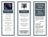 Teaching Gifted Students In B.C. - Strategies for Providin