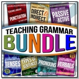 Teaching Grammar BUNDLE