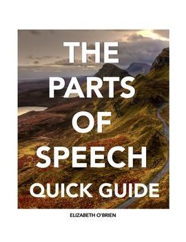 Teaching Grammar: The Parts of Speech Quick Guide