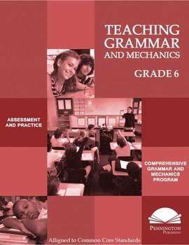 Teaching Grammar and Mechanics Grade 6