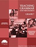 Teaching Grammar and Mechanics Grade 7